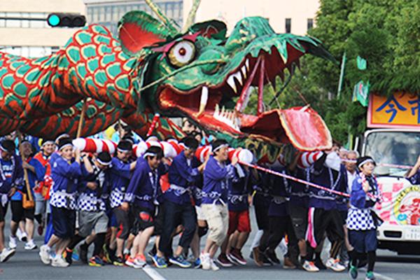 オロチ踊りパレード